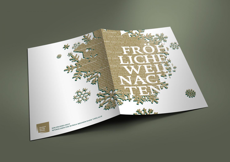HUBERT BURDA CHRISTMAS CARD