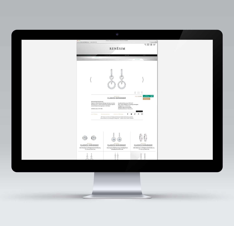 E-Commerce Webdesign Layout