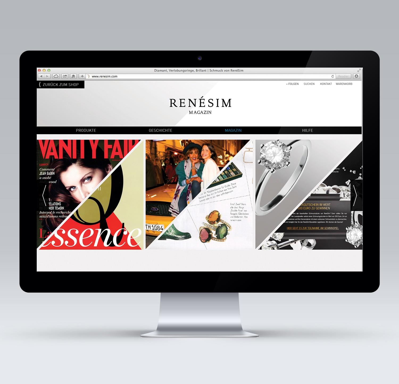 Online-Magazine Layout