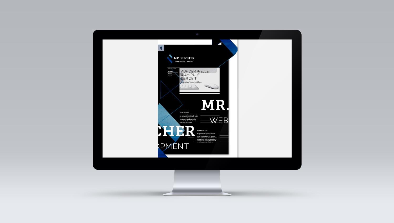 MR. FISCHER FLAT WEB