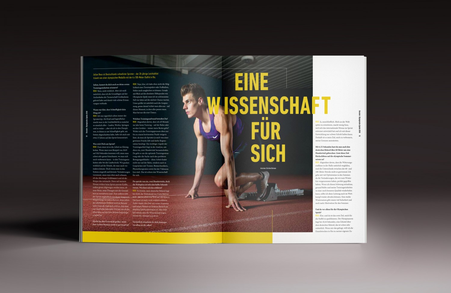 KLUBSPORT MAGAZIN DESIGN AND LOGO