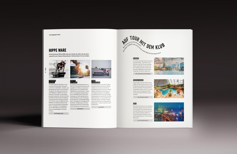 KLUBSPORT MAGAZINE DESIGN AND LOGO
